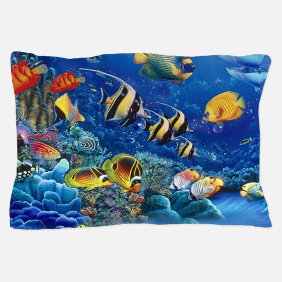 Tropical Fish Pillow Case
