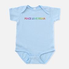 Peace Love Fiona Body Suit