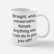 Straight, White...(FBL) Mugs