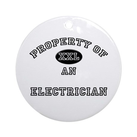 Property of an Electrical Engineer Ornament (Round