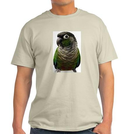 Green-Cheeked Conure - Ash Grey T-Shirt