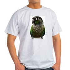 Green-Cheeked Conure -  Ash Grey T-Shirt