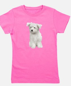Cool Black and white dog photos Girl's Tee