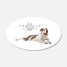 American Bulldog Wall Decal