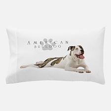 American Bulldog Pillow Case