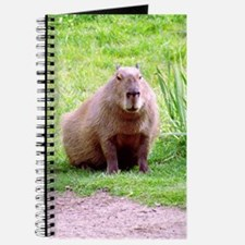 Capybara Looking Forward Journal