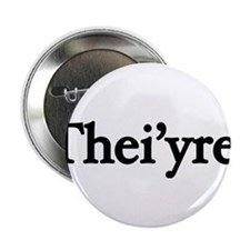 "Thei'yre 2.25"" Button (10 pack)"