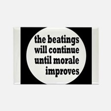 Funny Beating humor Rectangle Magnet