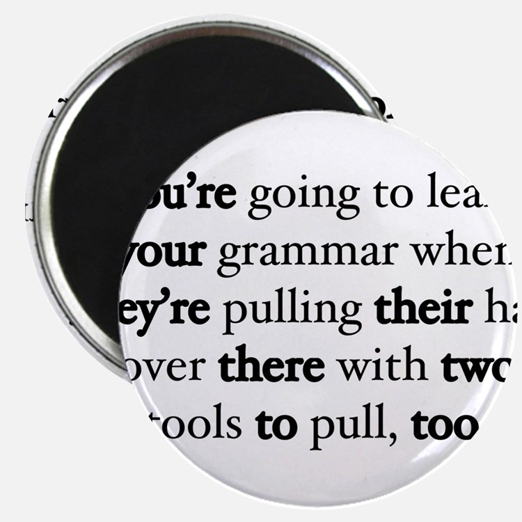 Correct Grammar Magnets