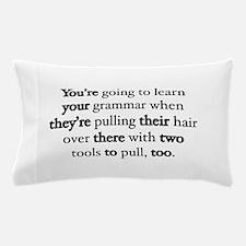 Correct Grammar Pillow Case