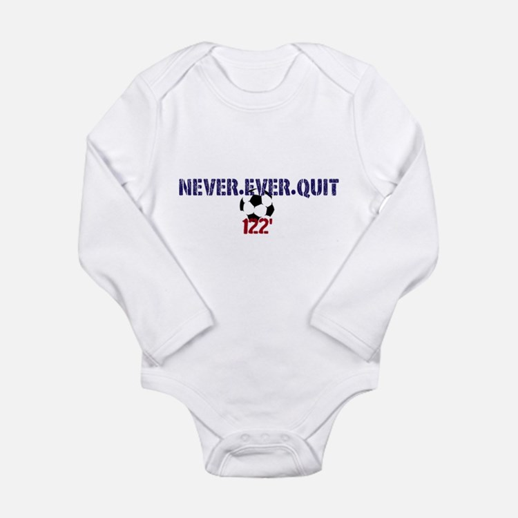 Cute Abby wambach Long Sleeve Infant Bodysuit