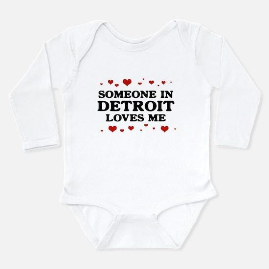 Cute Detroit Onesie Romper Suit