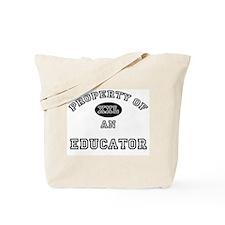 Property of an Educator Tote Bag