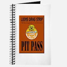 Lions Drag Strip Pit Pass Journal
