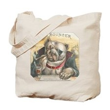 The Bouncer Vintage Bulldog Tote Bag - 2 Sided