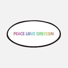 Peace Love Greyson Patch
