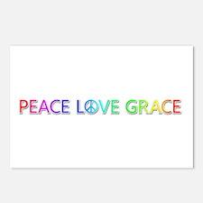 Peace Love Grace Postcards 8 Pack