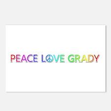 Peace Love Grady Postcards 8 Pack
