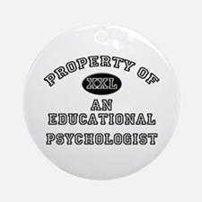 Property of an Educational Psychologist Ornament (