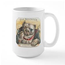 The Bouncer Vintage Bulldog Mug