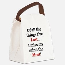 Cute Work place Canvas Lunch Bag