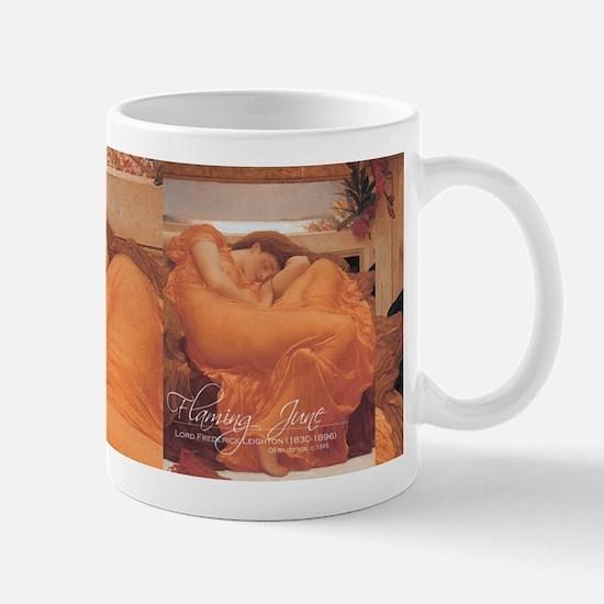 Flaming June cup 2 Mugs