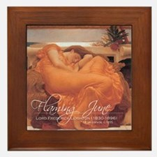 Funny Beautiful redheads Framed Tile