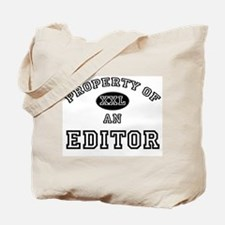 Property of an Editor Tote Bag