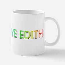 Peace Love Edith Mugs