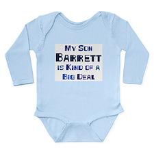 Unique Barrett Long Sleeve Infant Bodysuit