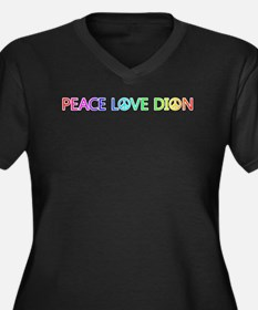Peace Love Dion Plus Size T-Shirt