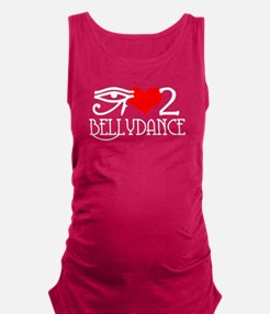 I love to BellyDance! Maternity Tank Top