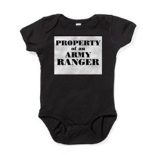 Unique Army ranger mom Baby Bodysuit