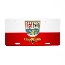 Erlangen Aluminum License Plate