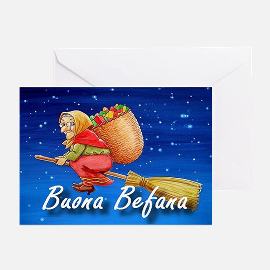 Buona Befana Greeting Cards