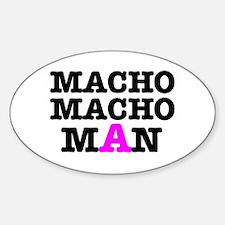 MACHO - MACH - MAN! Decal