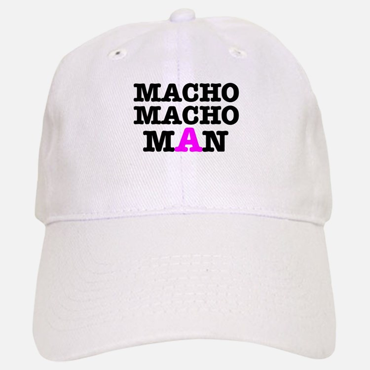 MACHO - MACH - MAN! Baseball Baseball Cap