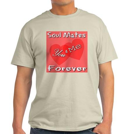 You & Me Soul Mates Forever Light T-Shirt