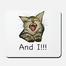 Singing Kitty Mousepad