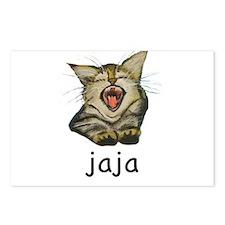jaja Kitty Postcards (Package of 8)