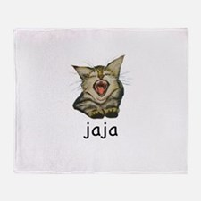 jaja Kitty Throw Blanket