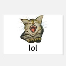 lol Kitty Postcards (Package of 8)
