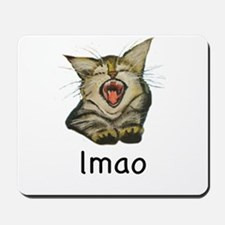 lmao Kitty Mousepad