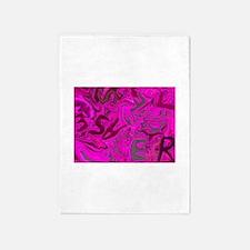 Fearless, Photo / Digital Painting 5'x7'Area Rug