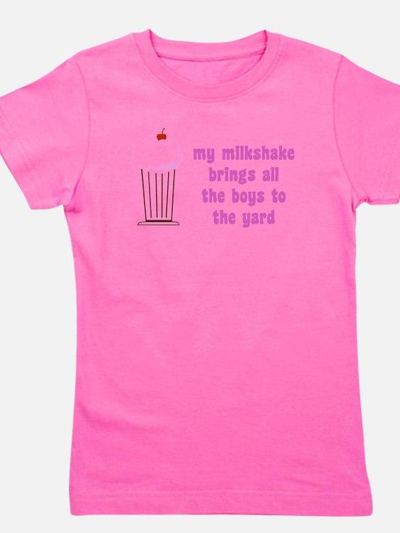 Cute Milkshake Girl's Tee