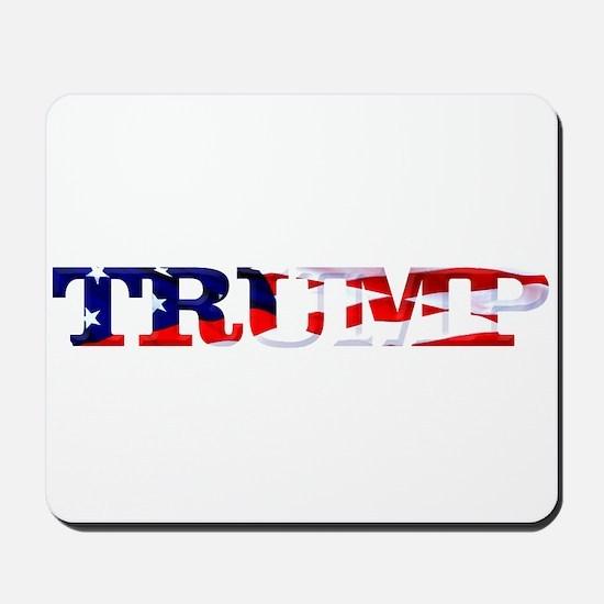 Trump - American Flag Mousepad