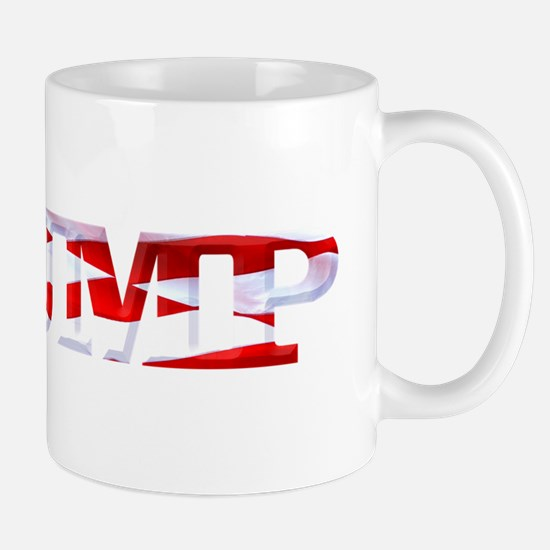 Trump - American Flag Mugs