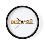 BEER ME. Wall Clock