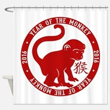 2016 Year Of The Monkey Shower Curtain