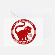 2016 Year Of The Monkey Greeting Cards (Pk of 10)
